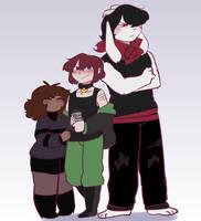 Squad by Channydraws