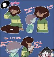 Dumbass boi I love him- by Channydraws