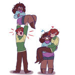 Buff swap babes