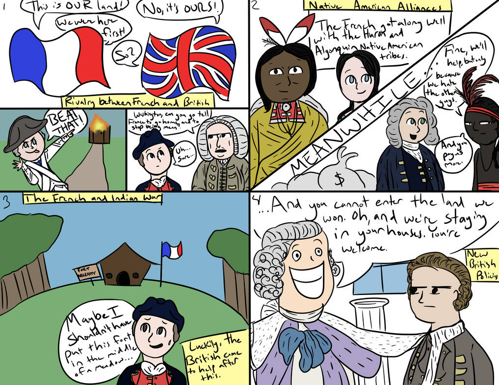 French and Indian War Storyboard by Melonhead-dooght on DeviantArt