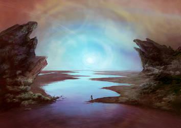 A fisherman of Ares Vallis