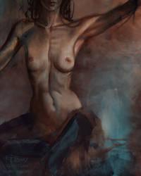 Nude study by eilidh