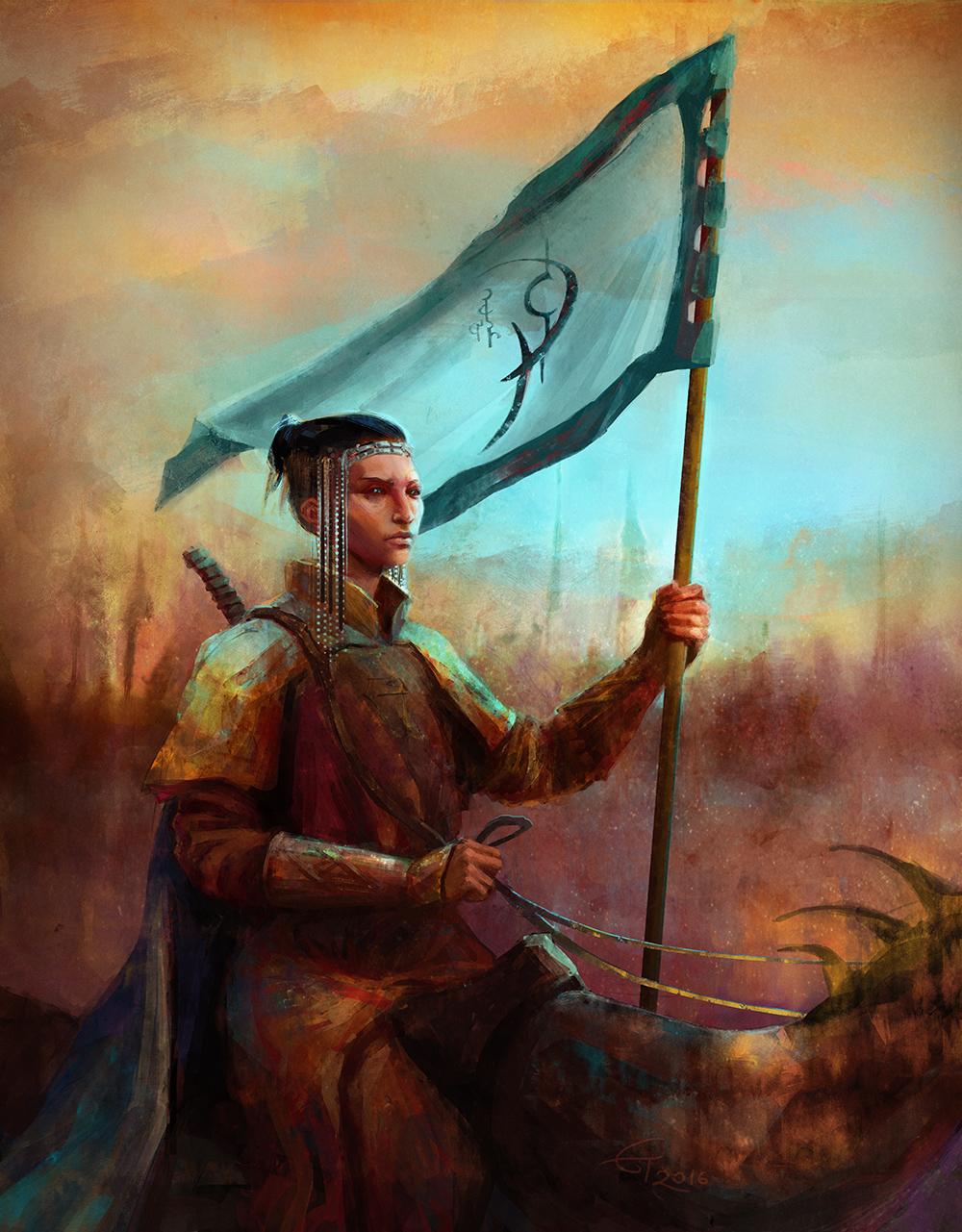 A Knight of Cydonia by eilidh