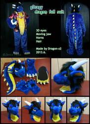 gDragy the dragon full suit by dragon-x2