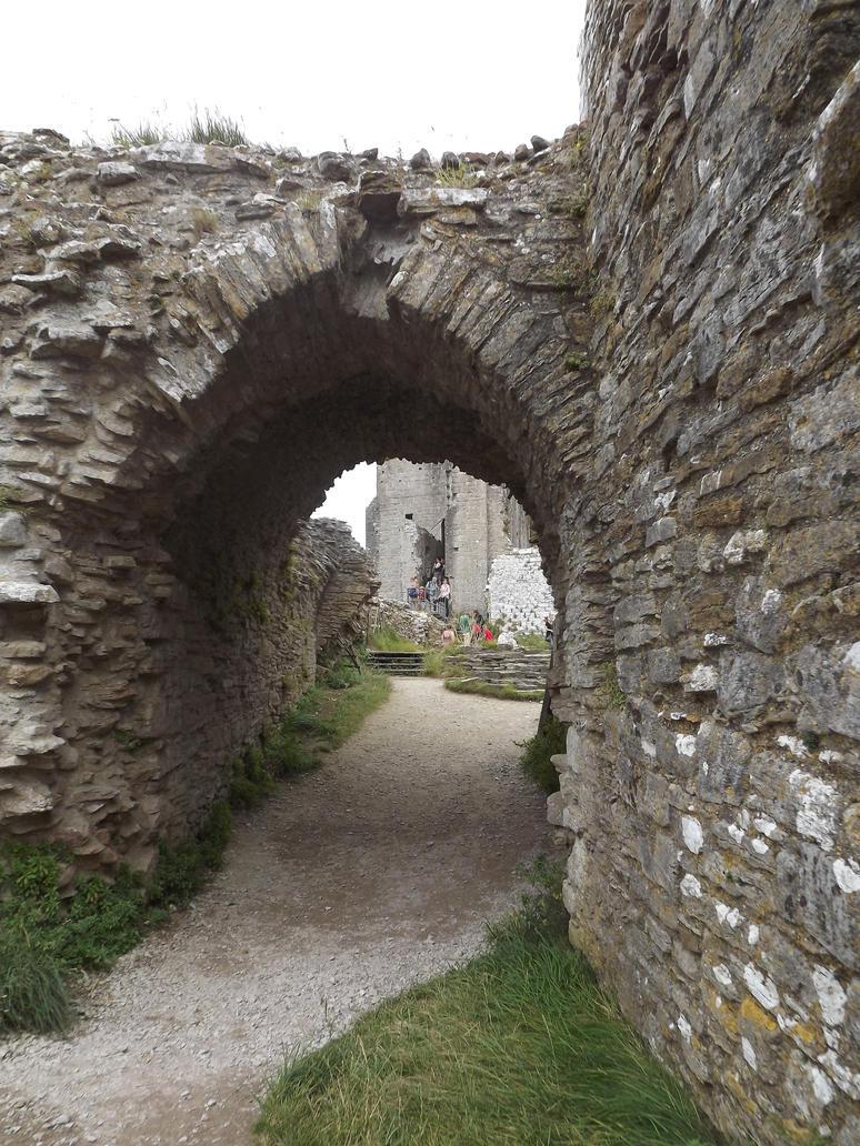 Corfe Castle Stock by VIRGOLINEDANCER1