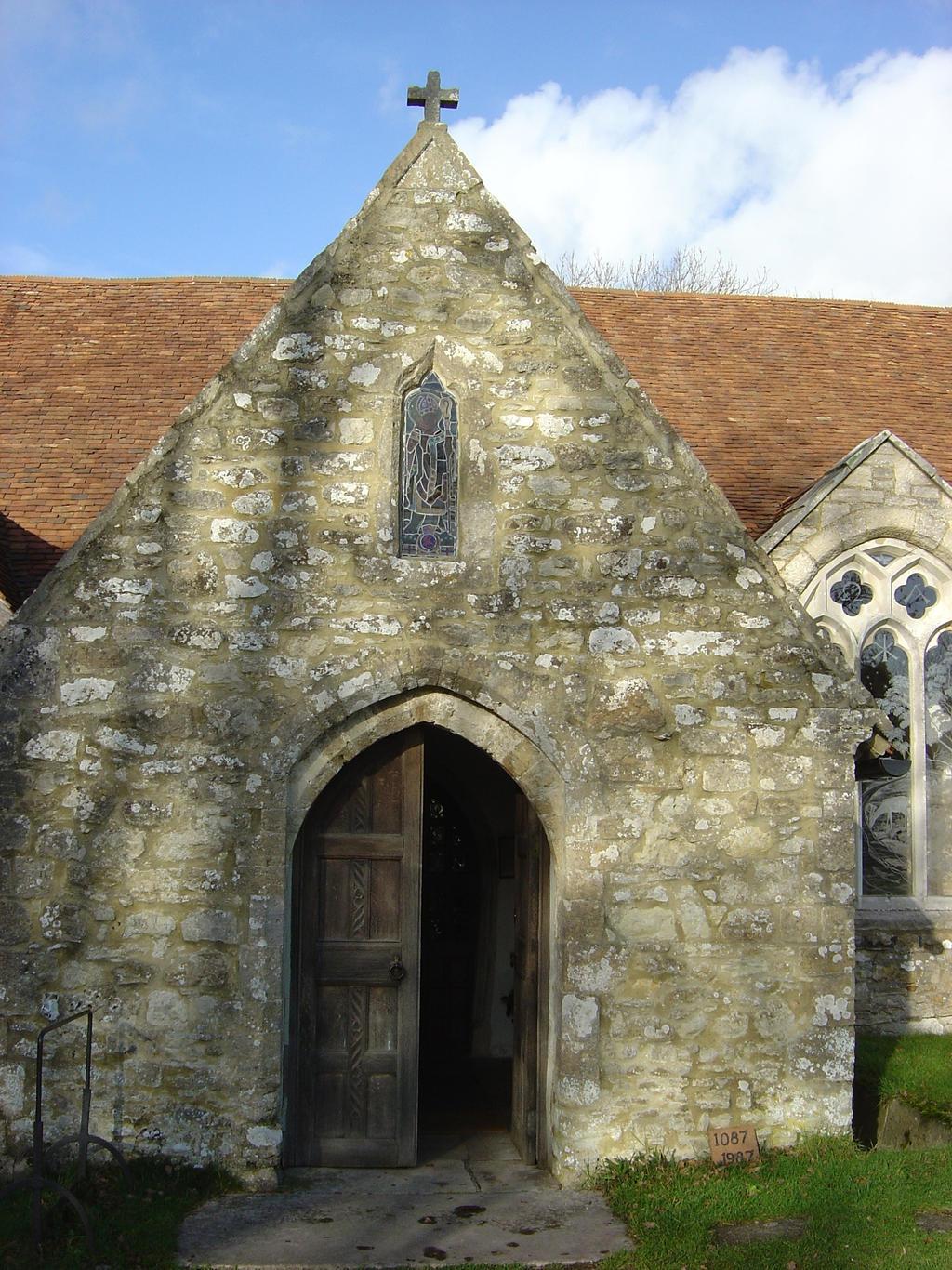 DSC00272 South entrance to Church of St. John  by VIRGOLINEDANCER1