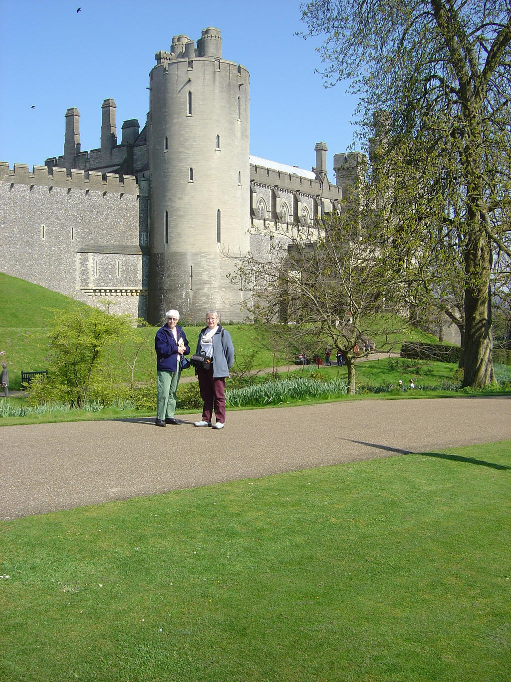 DSC00302  Arundel Castle by VIRGOLINEDANCER1