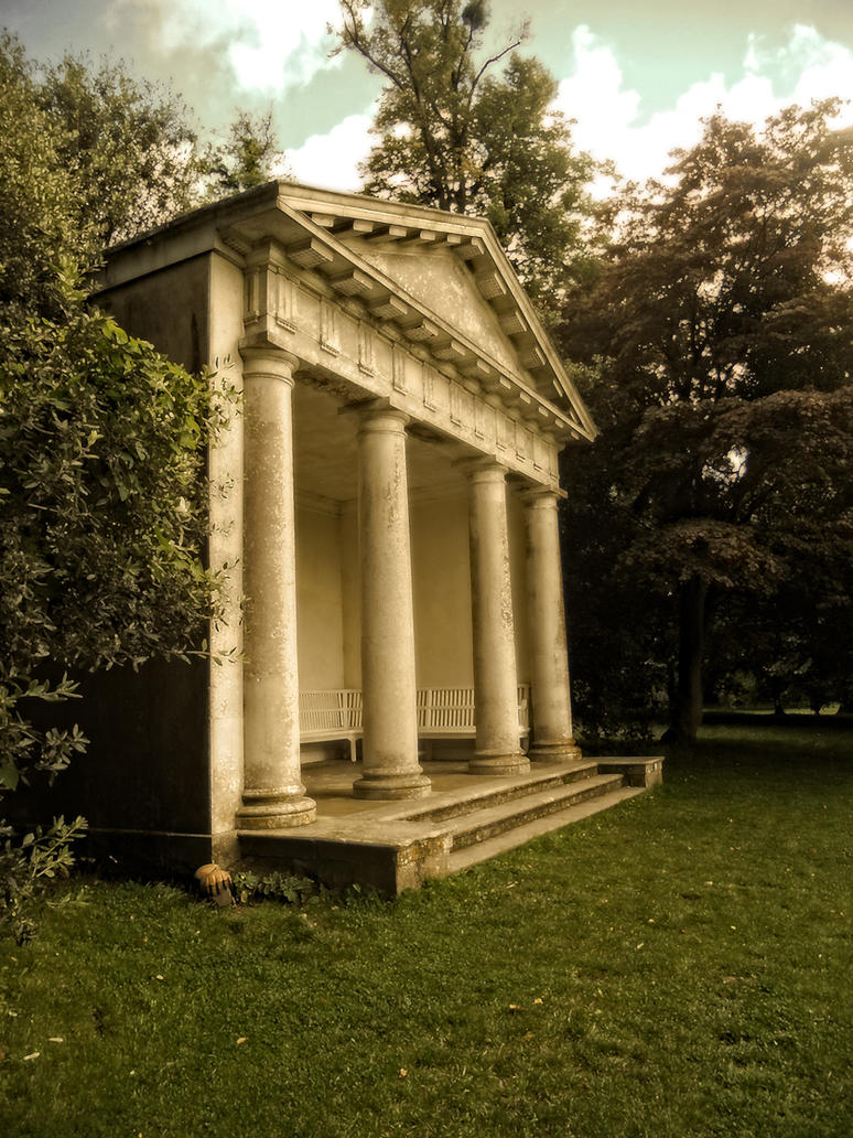 Doric temple in autumn1 by virgolinedancer1 on deviantart for Premade columns