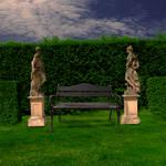Garden 1 Premade Background