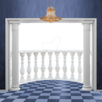 Premium Contents -Room with a Balcony Overlay PNG