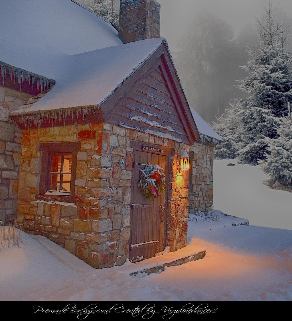 Christmas Cottage 3 By Virgolinedancer1 By Virgolinedancer1 On Deviantart