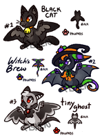 (CLOSED) October Special:Halloween Batbits by AshenSpectre