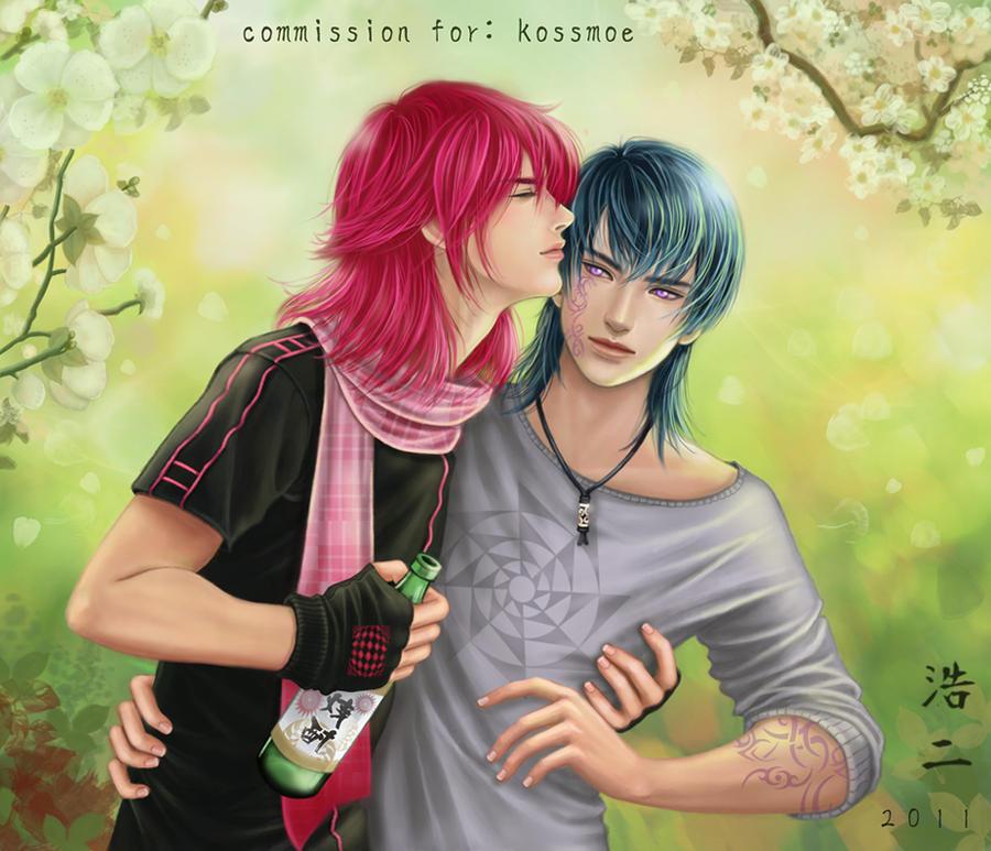 Colourful Kiss by K-Koji