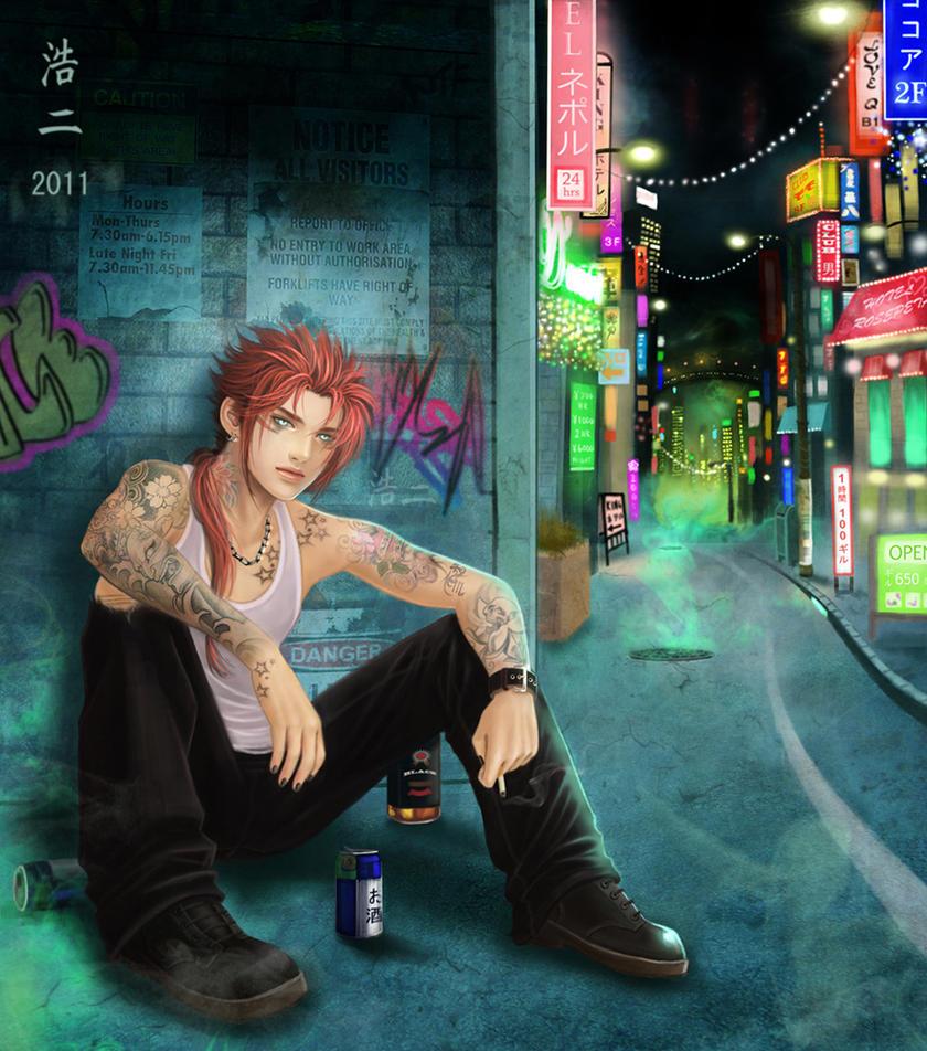 Before Shinra by K-Koji