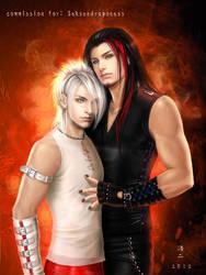 Tai and Jason by K-Koji