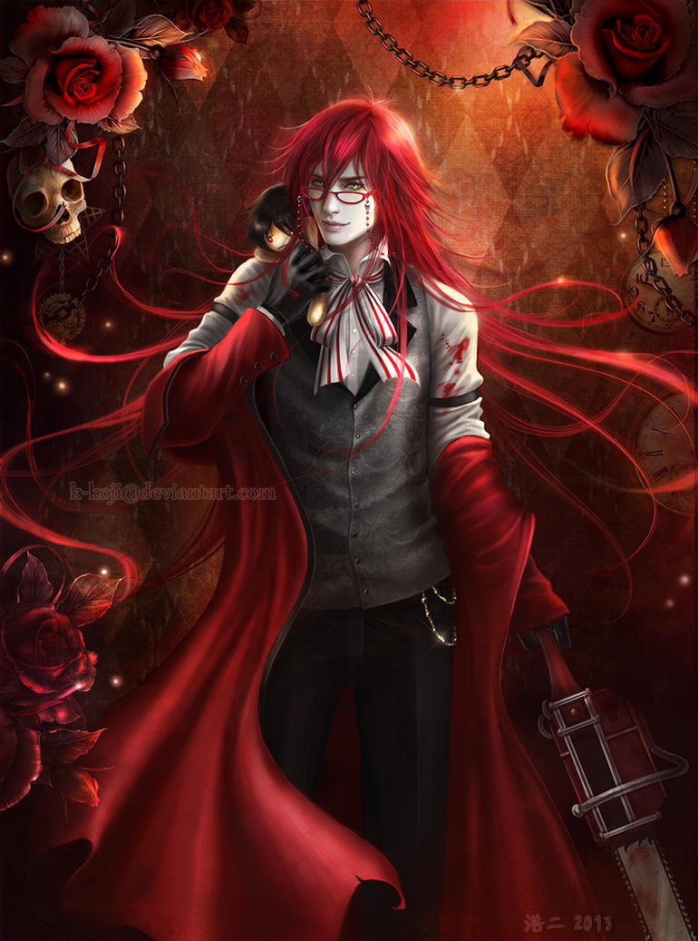 Underworld Vault of Thanatos Kuroshitsuji__grell_sutcliff_by_k_koji-d61xbdu