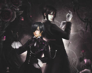 Ciel Phantomhive and Sebastian
