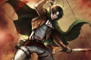 AoT: Captain Levi (Wallpaper)