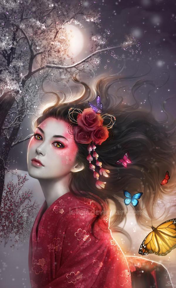 Spirit of Spring by K-Koji