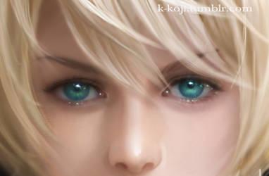 Trancy's Eyes by K-Koji