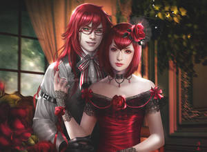 Grell Sutcliff and Madam Red