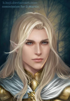 Commission: Glorfindel