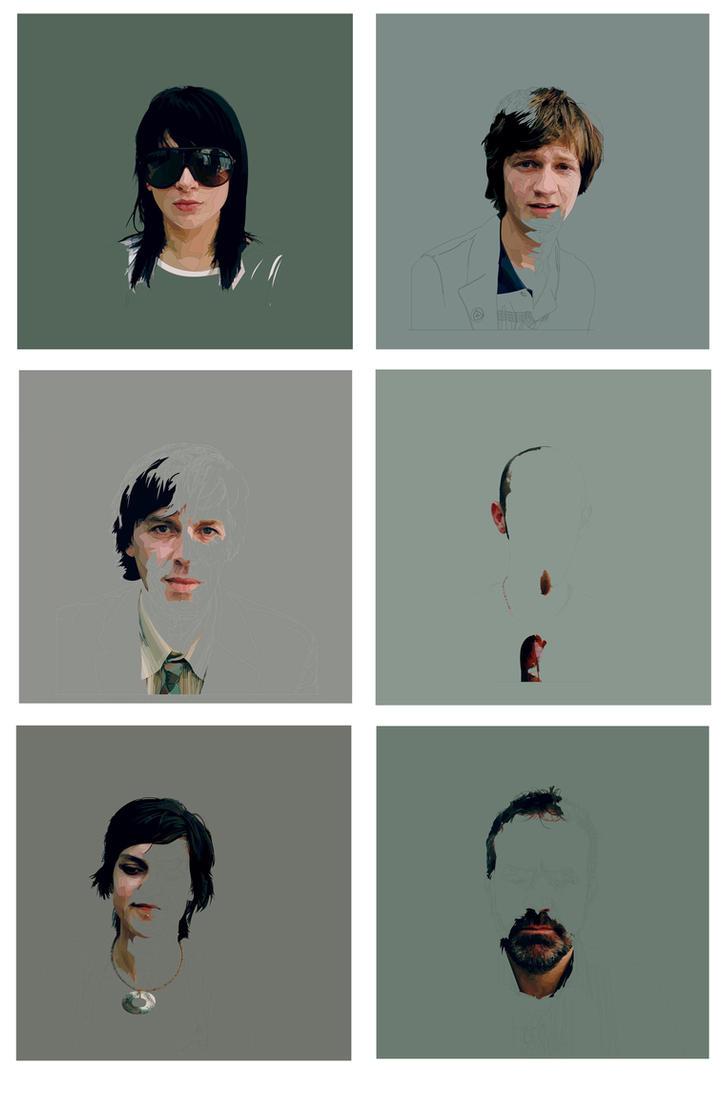 Identity 1 to 6 by ajd