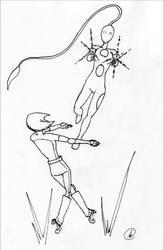 Celestine vs. Keeley by chekeichan