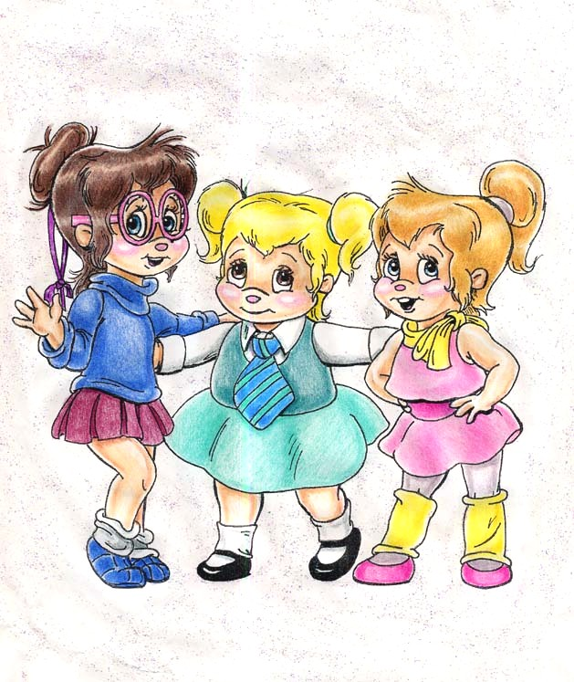 The Chipettes By SwitchPoint On DeviantArt