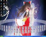 Touhou- Reimu Hakurei Desktop