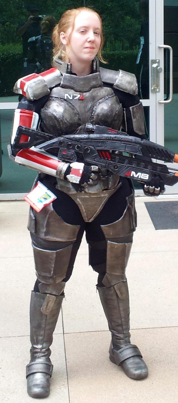 Commander Shepard by crackerbitz