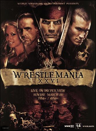 WWE WrestleMania XXVI by Rzr316