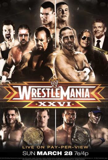 Image result for wrestlemania 26 poster