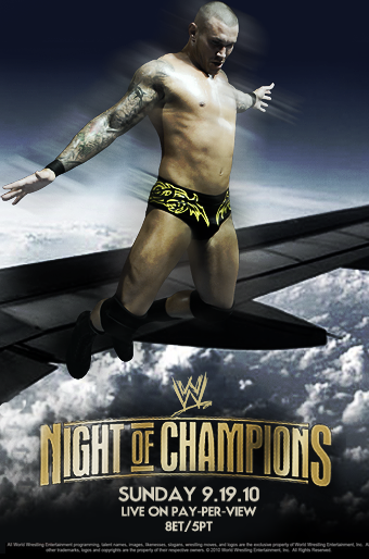 WWE Night Of Champions 2010 by Rzr316