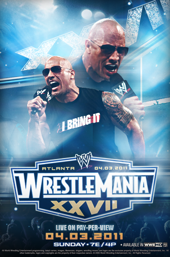 WWE WrestleMania 27 Poster by Rzr316Wrestlemania 24 Poster