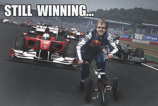 Sebastian Vettel funny by Rzr316