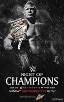 WWE Night Of Champions 2014 poster