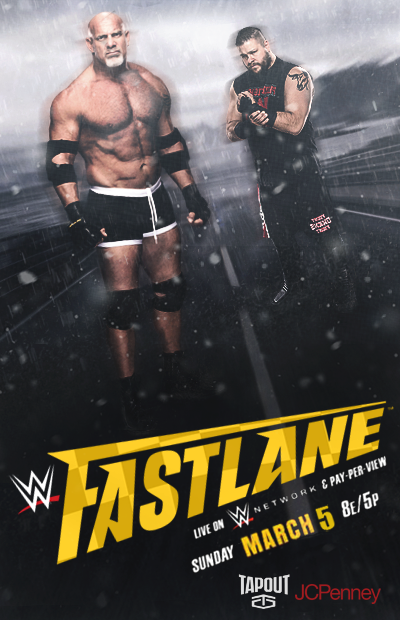 WWE Fastlane 2017 poster by Rzr316