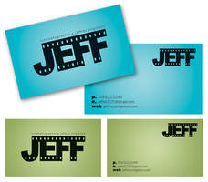 Jeff Singleton Business Cards by dayliwonder23