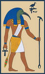 Djehuty, bka the God Thoth