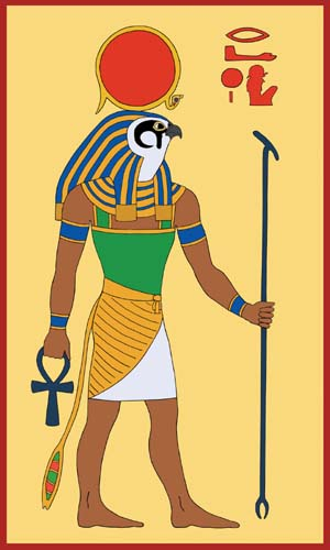 who was the egyptian god of the sun