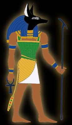 Anubis by Tutankhamun