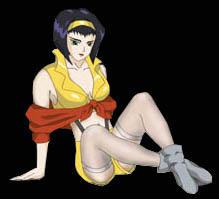 Faye Valentine Icon by Tutankhamun