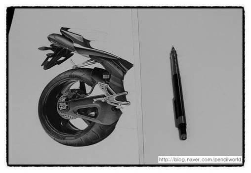 YAMAHA R1 Drawing WIP