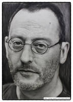 Jean Reno drawing by sharppower