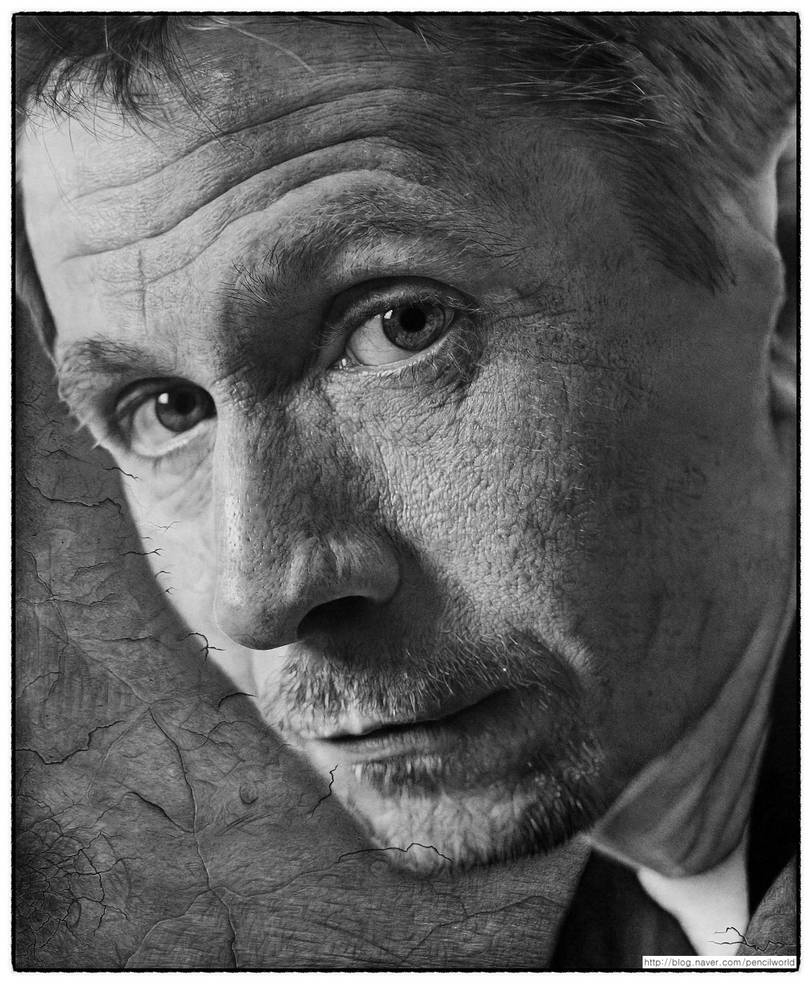 Gary Oldman drawing