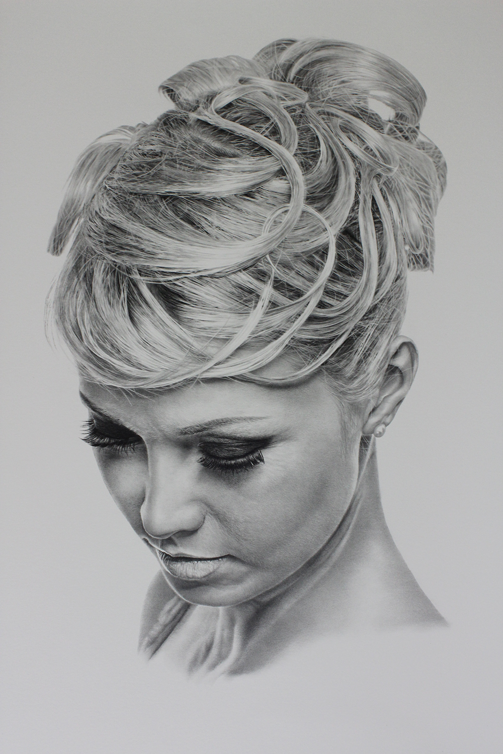 girl drawing by sharppower