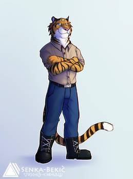 Senko the tiger