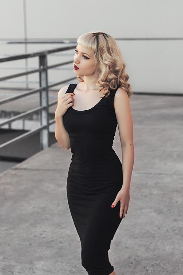 Little Black Dress II by Miss-Bo