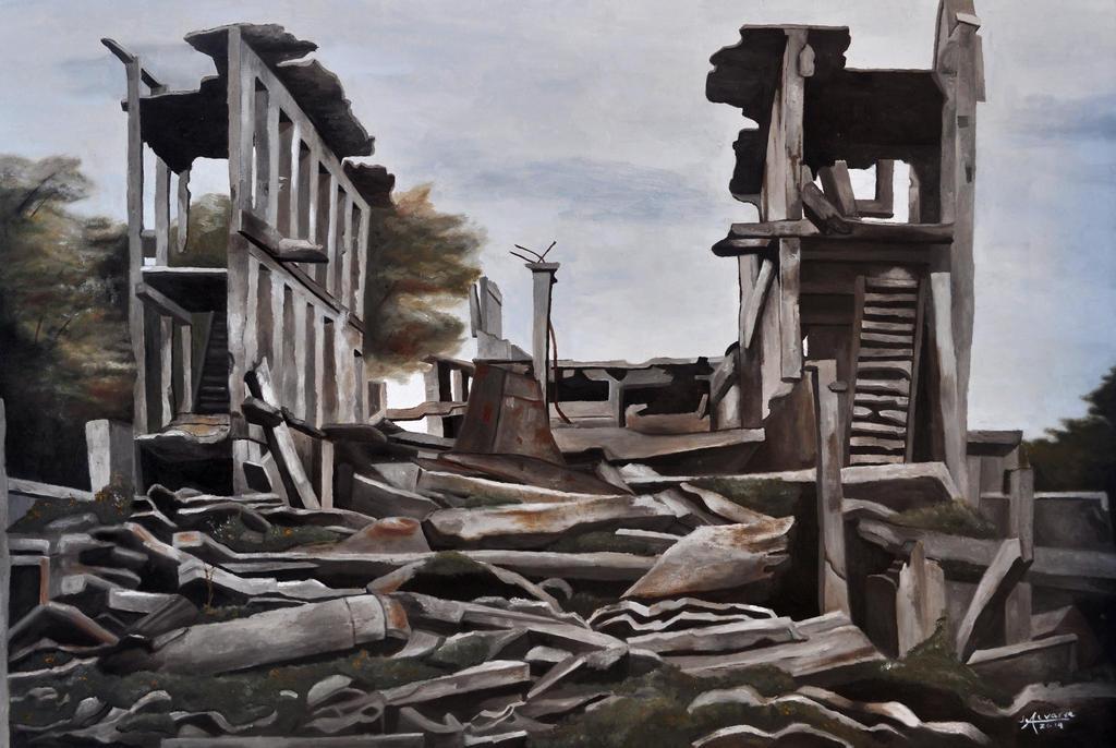 Ruins 2x3 2014 by onlyjeje
